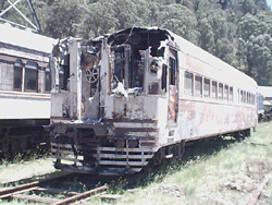 Fire damaged 761
